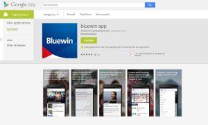 La Bluewin App de Swisscom.