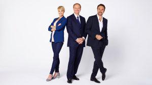 Eric Tveter en compagnie de Stéphanie Berger et Carlos Leal.