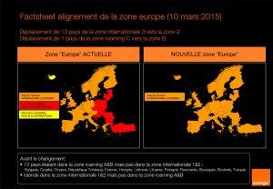 Orange inclut 13 nouveaux pays dans la Zone Europe.