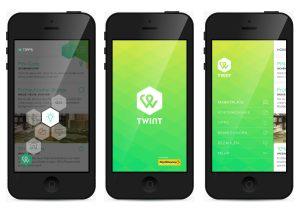 L'application Twint de Postfinance.