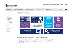 Swisscom Hopsitality Services.