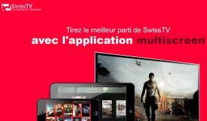 SwissTV met à jour son application pour iOS.
