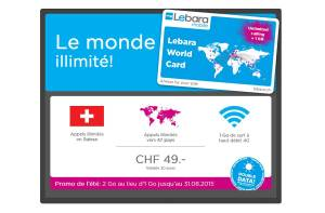La Lebara World Card.