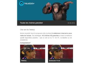 TeleBoy plus net que Swisscom en mobilité.
