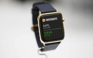 Swissquote sur l'Apple Watch.