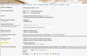 Annuler l'envoi dans Gmail (en jaune).
