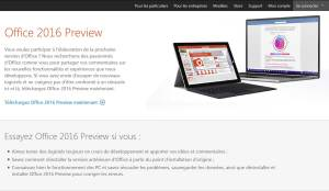Office 2016 Preview de Microsoft.