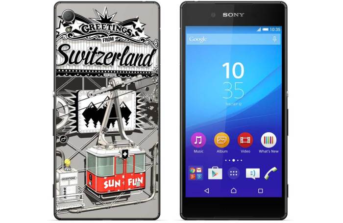 Le Sony Xperia Z3+ for Switzerland, en exluisivité chet digitec.ch.