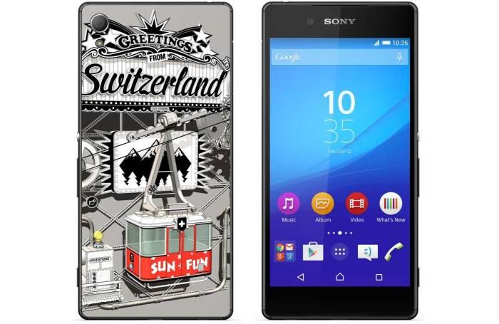 Le Sony Xperia Z3+ for Switzerland, en exluisivité chet digitec.ch.