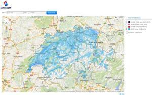 Le réseau 4G/LTE de Swisscom couvre 97% de la population.