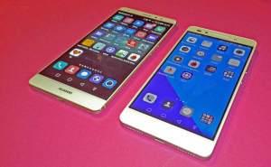 Huawei Mate S (g) vs Honor 7.