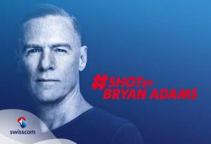 Bryan Adams sera l'ambassadeur de Swisscom pendant deux jours.