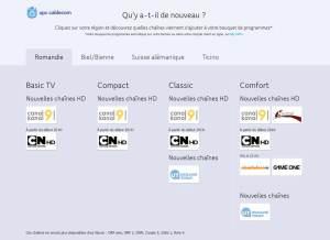 UPC Cablecom complète son offre TV.