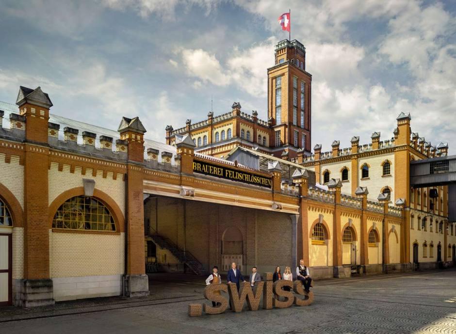 Le «.swiss» a bénéficié d'une campagne de choix.