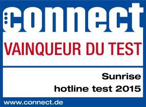 Mobile: Sunrise offre le meilleur service de Suisse.