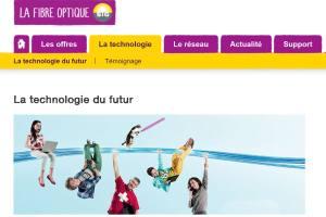 La fibre optique progresse à Genève.