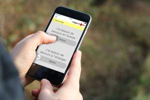 Une application pour sauver des vies. Photo: Rega.