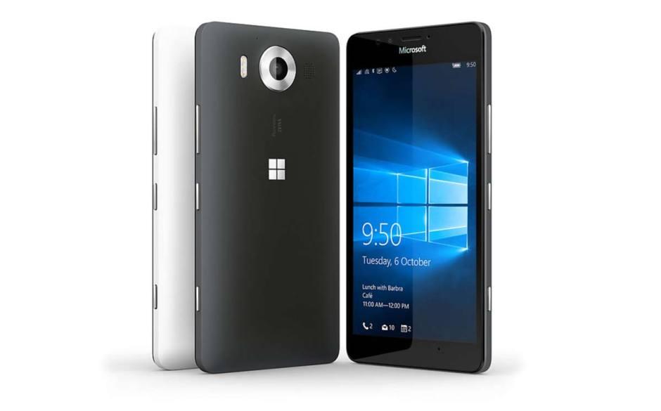 Le Microsoft Lumia 950.