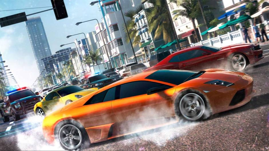 The Crew par Ubisoft.