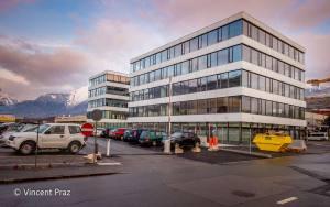 Le Swisscom Business Park de Sion.