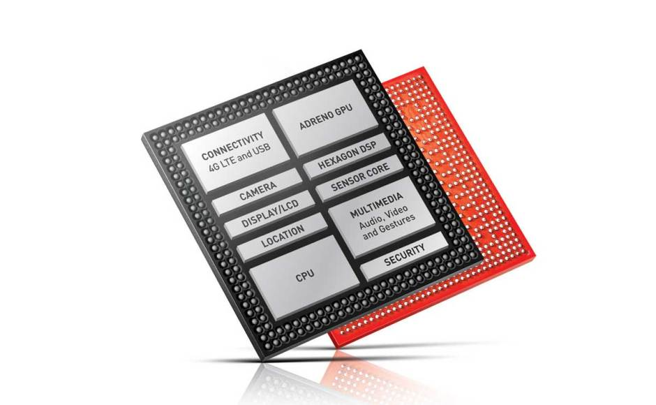 Le Qualcomm Snapdragon 820.