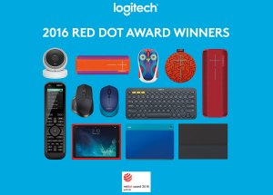 Logitech remporte neuf «Red Dot 2015 Product Design Awards».