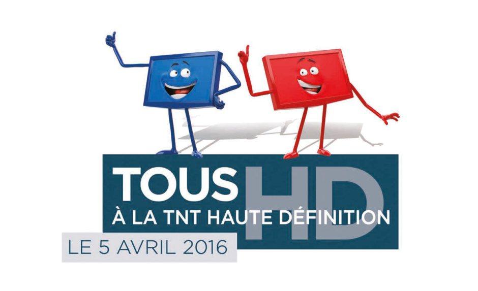 La France passe à la TNT tout HD le 5 avril 2016.