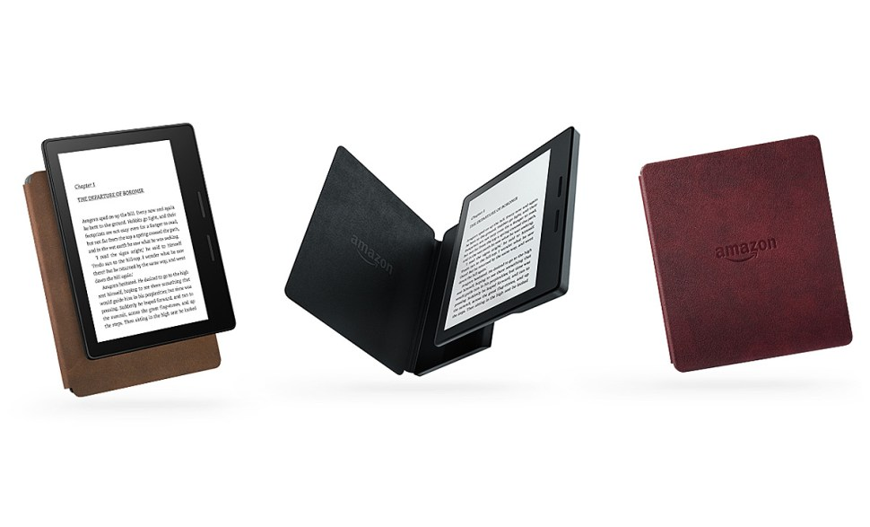 Amazon Kindle Oasis.