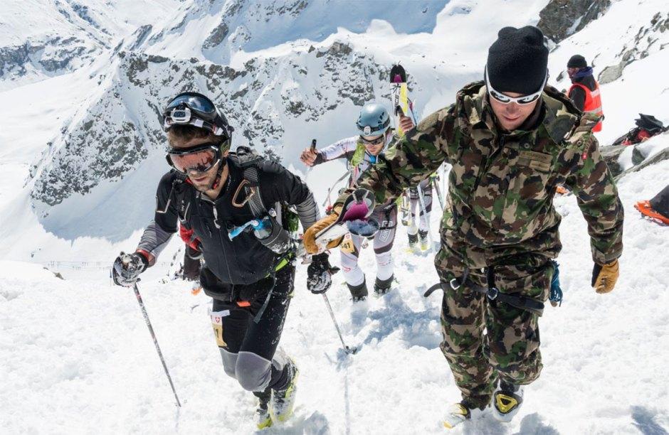La patrouille des Glaciers avec Swisscom PdG 2016.