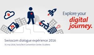 Swisscom digital Journey.
