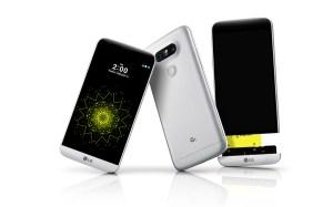 LG G5 dévoilé au MWC 2016.
