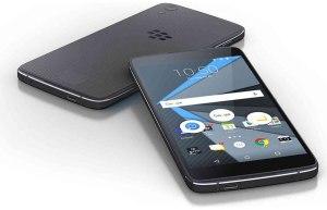 Le BlackBerry DTEK50 sous Android.