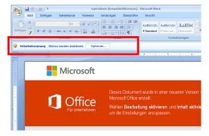 Office désactive les macros par défaut pour des questions de sécurité.