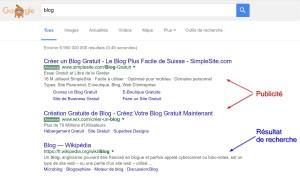 Google, maître de la publicité sur internet.