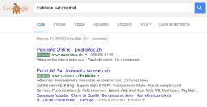 Plus de la moitié des internautes ne voient pas la pub sur Google!