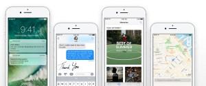 Mobile: Apple iOS 10 et WatchOS 3 sont déjà disponibles!