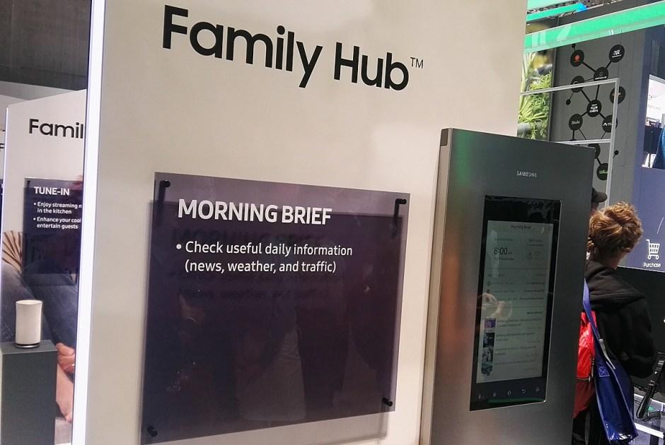 Samsung Family Hub.