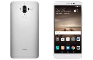Le Huawei Mate 9 en gris.