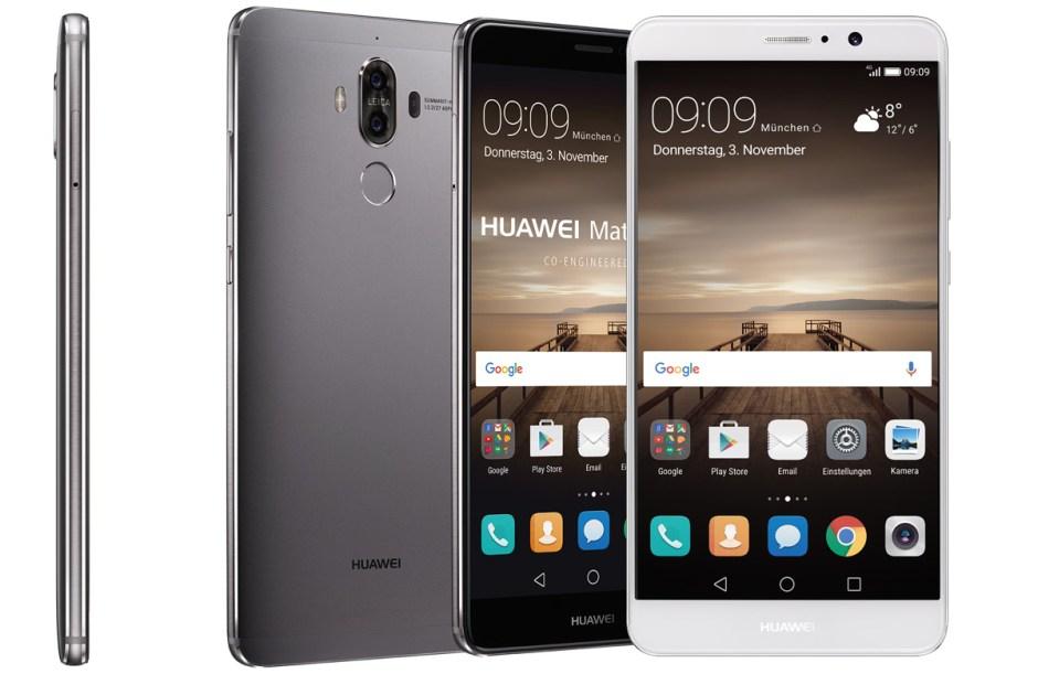 Le Huawei Mate 9 possède 64Go de stockage pour 4Go de mémoire vive.