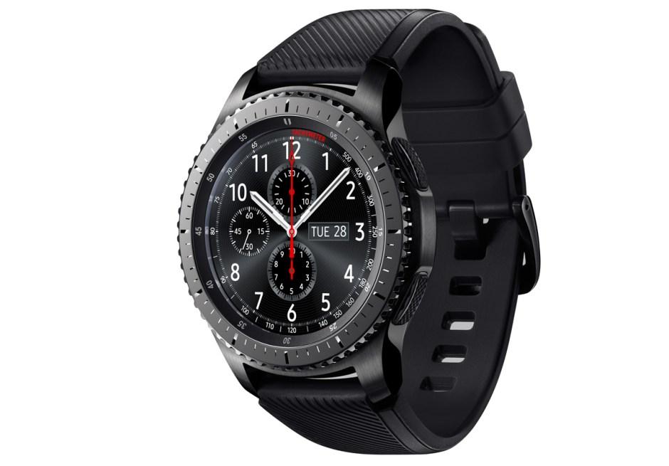 Samsung Gear S3 ou l'horlogerie logicielle tournée vers le futur.