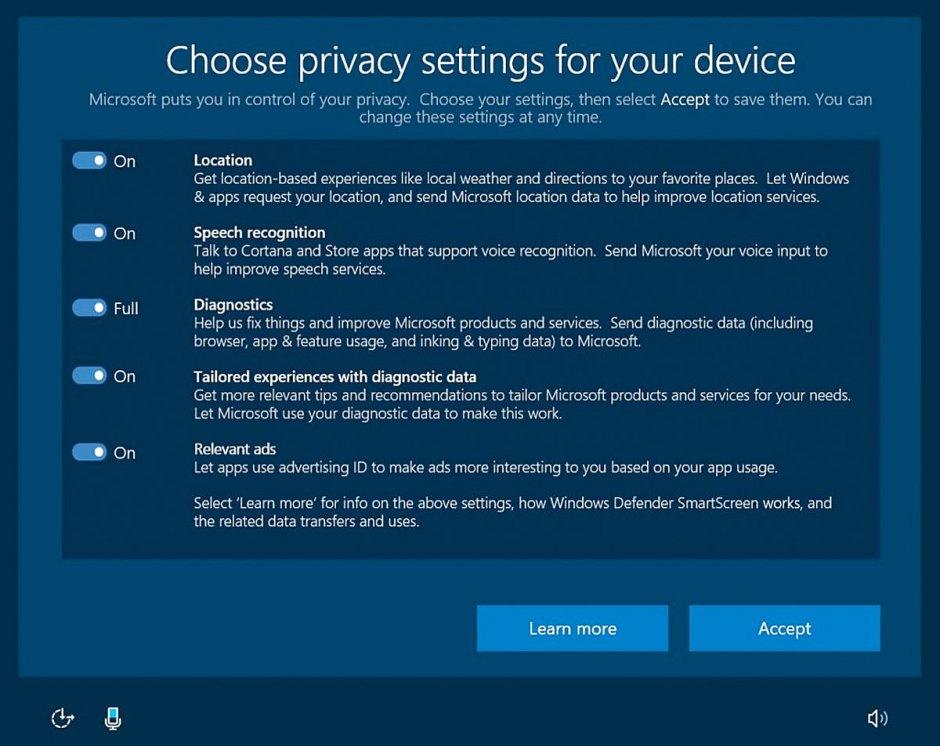La future mouture de Windows 10 se veut plus transparente en matière d'utilisation des données.