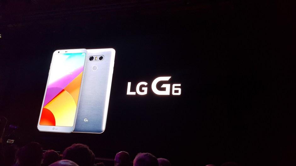Le LG G6 avec Google assistant.