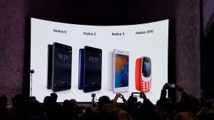 #MWC17: HMD lance les Nokia 3, 5 et 6 ainsi que le 3310 de manière globale!