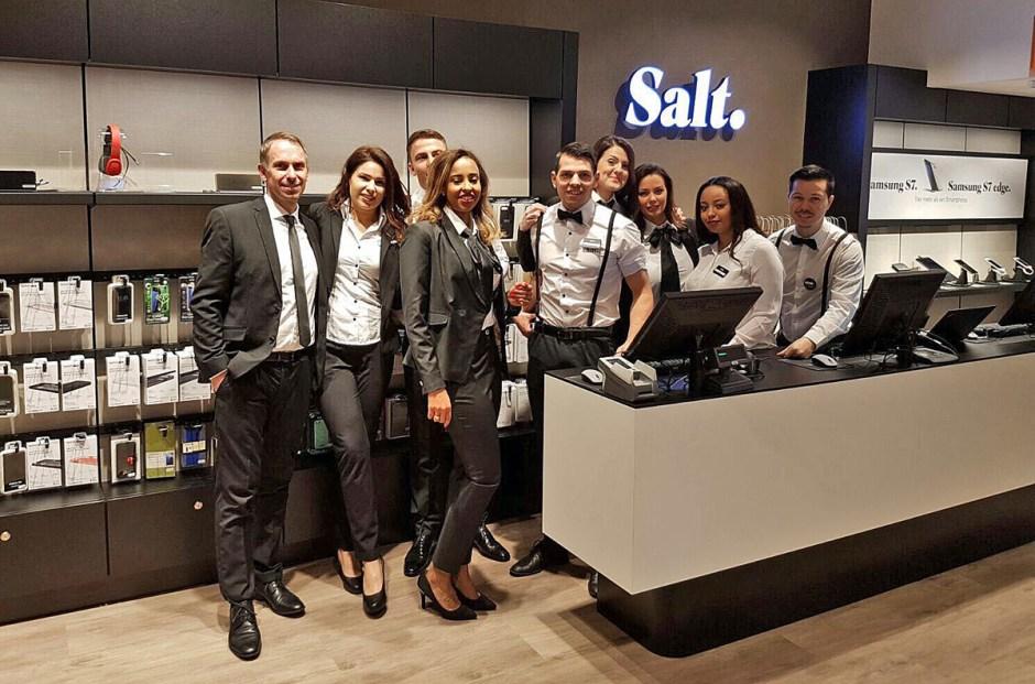 Salt a inauguré mercredi son nouveau magasin sur la Bahnhofstrasse à Zurich.