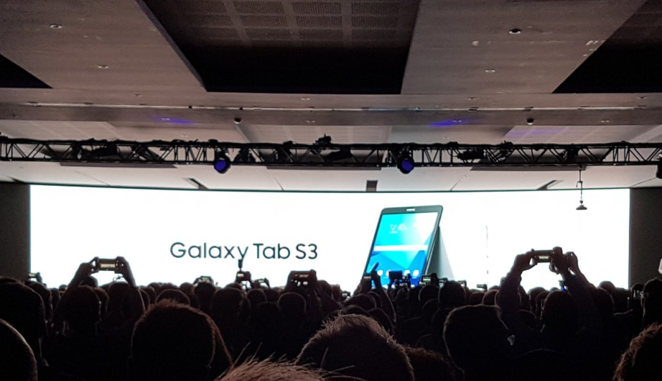 La tablette Galaxy Tab S3.