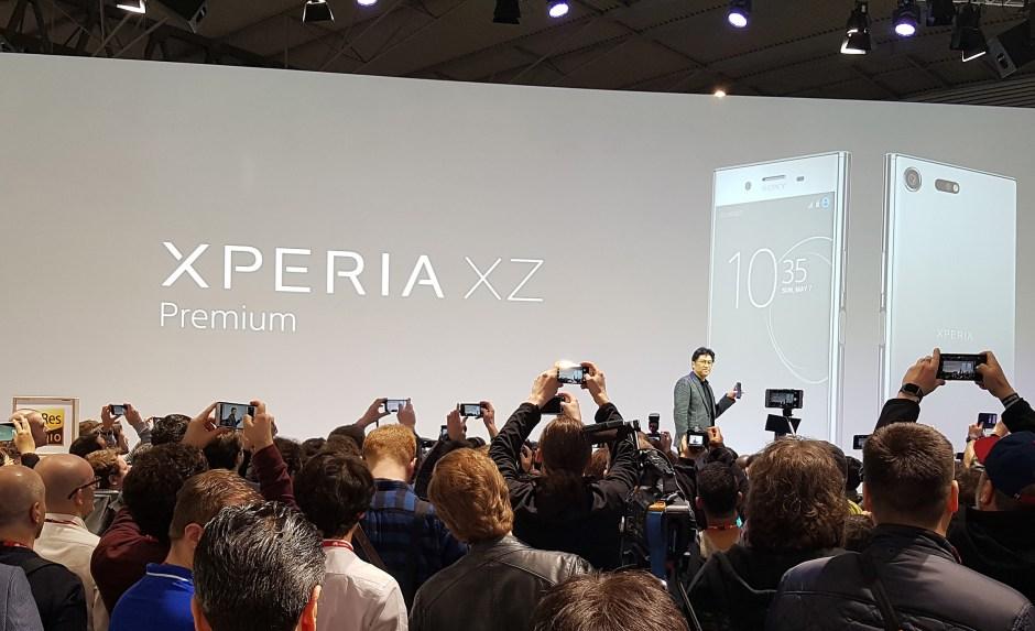 Le Sony Xperia XZ Premium avec écran 4K HDR, compatible gigabit!