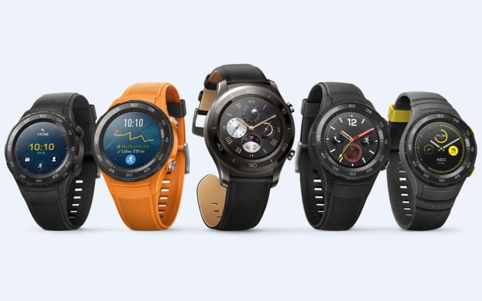 Huawei Watch 2 avec assistant Google: dès 349 francs suisses.