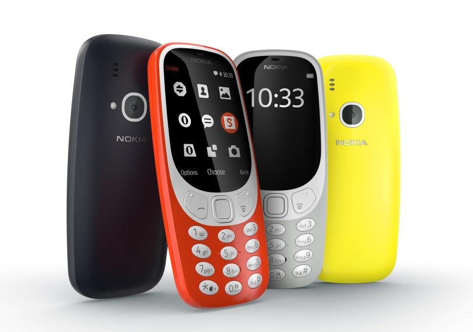 Nokia 3310 couleur: jusqu'à un mois d'autonomie avec le jeu Snake pour 49 euros.