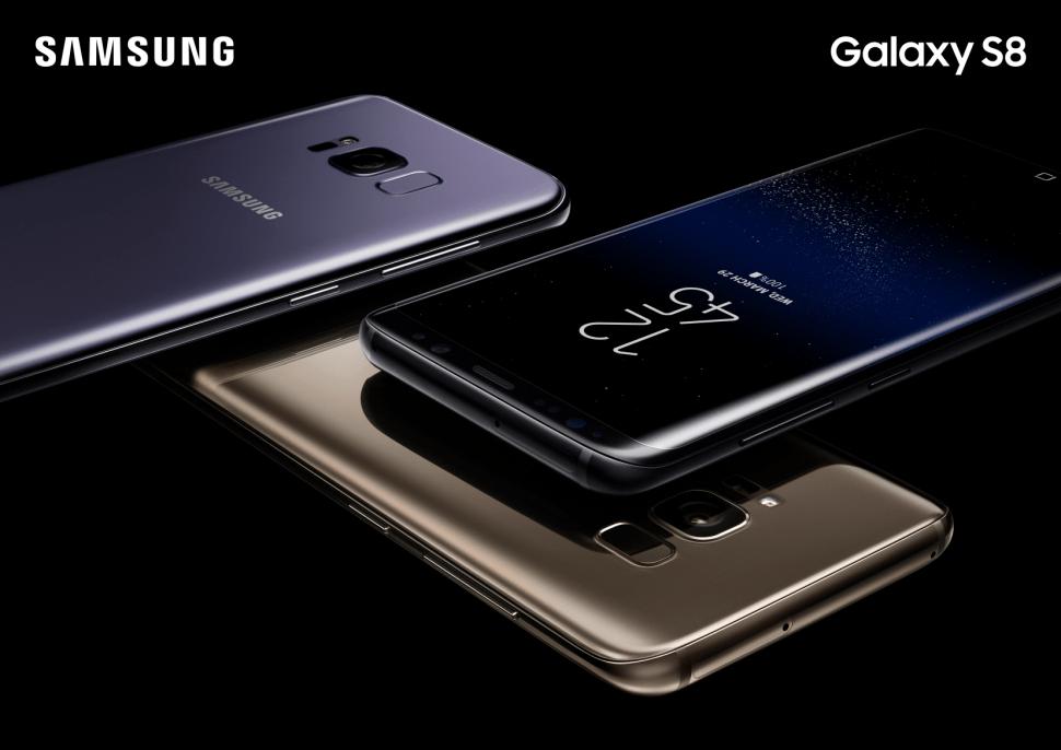 Les Samsung Galaxy S8 et S8+ arriveront en Suisse dès le 20 avril.