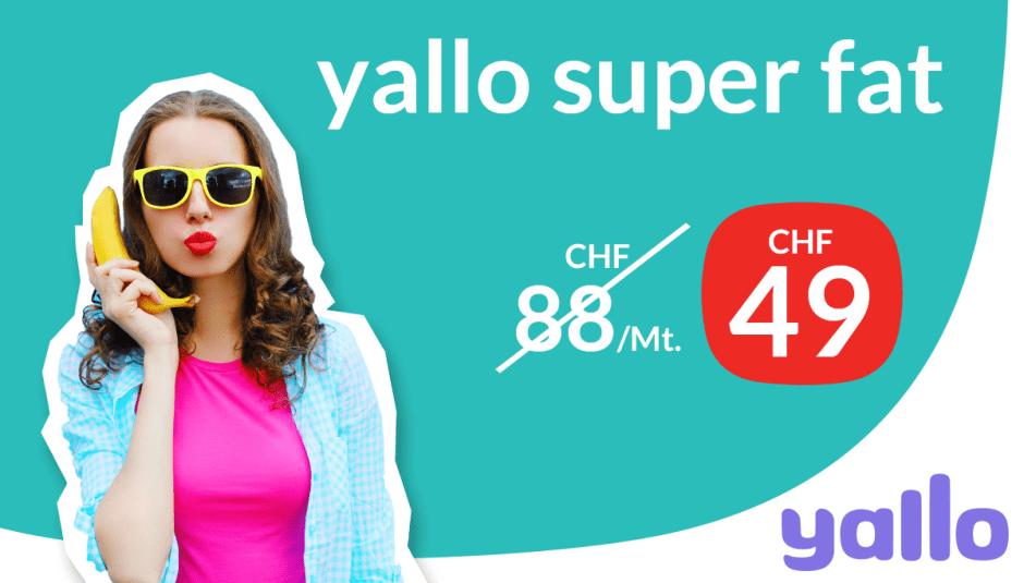 La campagne de Yallo pour sa promotion de 24 mois...
